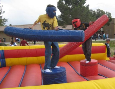 Western Ma Joust Extreme Octagon Bungee Run Rentals